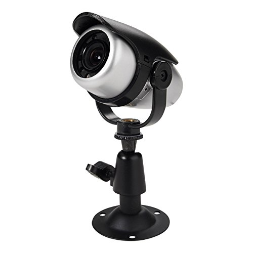 - First Alert P-510 Color Day/Night Wired Security Camera (Black/Silver)