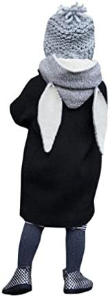 Tenworld Toddler Baby Autumn Winter Outwear Hooded Jacket Coat with Rabbit Ears