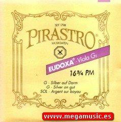 CUERDA VIOLA - Pirastro (Eudoxa 224351) (Tripa/Plata) (16 3/4 PM) 3ª Medium Viola 4/4