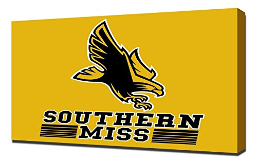 (Lilarama USA Southern Mississippi Golden Eagles 2 - Canvas Art Print - Wall Art - Canvas Wrap)