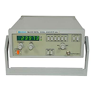 TAG-101D Adjustabl Function Audio Signal Generator 0.2Hz~2MHz Signal Source 110V US Warehouse