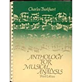 Anthology for Musical Analysis, Burkhart, Charles, 0030188660