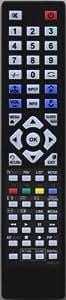 Calidad FB21304S 1:1 mando a distancia compatible con PHILIPS 50PFL5008K/12 - incluye pilas