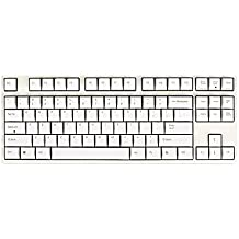 LEOPOLD FC750R 87Key Mechanical Keyboard for Gaming Keyboard, DYE Sublimation Editon, White Color, Red Switch