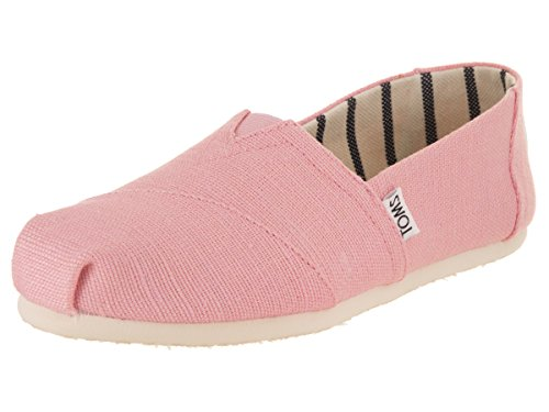 TOMS Womens Venice Casual Lifestyle Shoe, Powder Pink, 6 B(M) US by TOMS