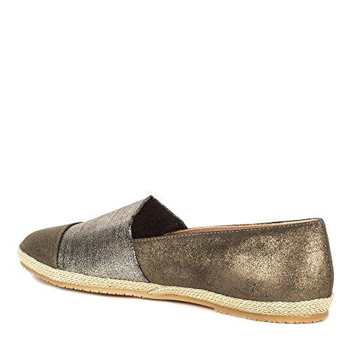 Biarritz Acciaio Mujer B Zapatos Espadrilles Elia qECHwUX