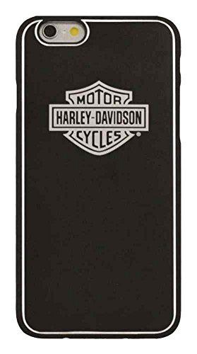 Harley-Davidson Men's Aluminum Bar & Shield iPhone 6 Phone Shell, Black 7793