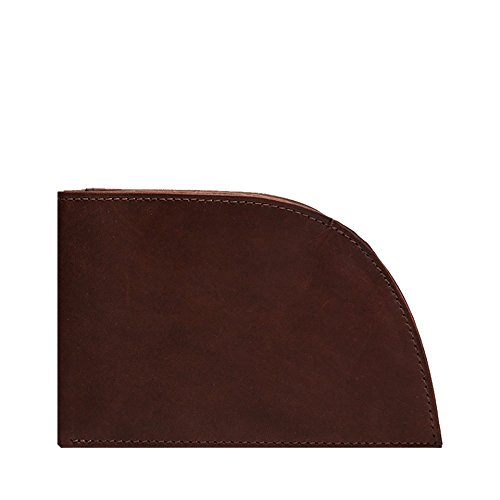 Front Pocket Wallet by Rogue Industries - Classic Wallet in Genuine Top Grain Leather - Brown
