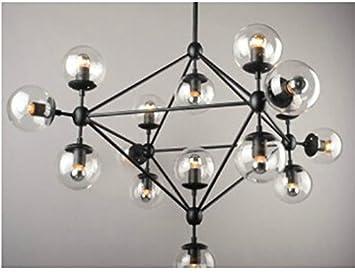 Kronleuchter Mit Bewegungsmelder ~ Gowe modern magic bean dna moleküle kronleuchter anhänger lampe