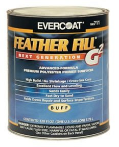 Evercoat Feather Fill Primer G2, Gray, 1-qt, Pt# 712