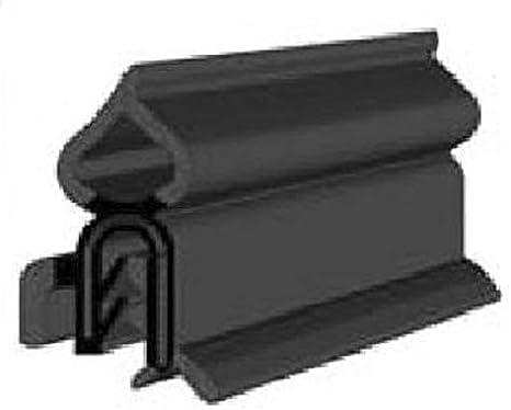 Boot Trunk Hood lid Hatch Rubber 5 Feet Vertical Bulb Trim Seal with Internal Flange |Bulb Diameter: 0.5 Grip Range 1//32 to 1//4