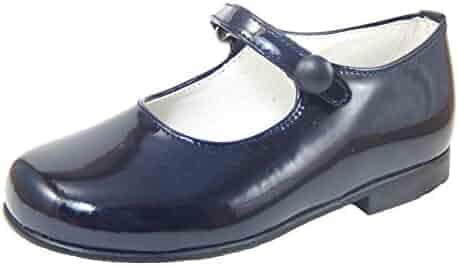 801252210d4 De Osu Girls  Navy Patent Leather Dress Shoes P-2550 (Toddler Little