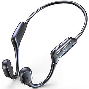 骨伝導イヤホン 【Qualcomm aptXに対応 最新Bluetooth5.1技術】 Bluetooth イヤホン スポーツ仕様 ワイヤレスイヤホン