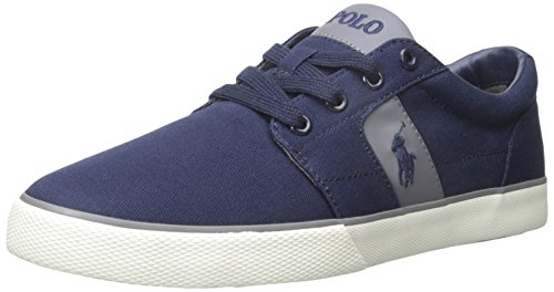 Sneaker Newport Halmore Canvas Ralph Lauren Fashion Navy Polo Mens xHnvf1Ux