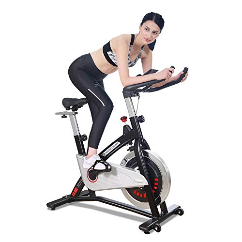 JOROTO Magnetic Resistance Exercise Bike Stationary Belt Drive Indoor Cycling Bikes Trainer Workout Cycle for Home