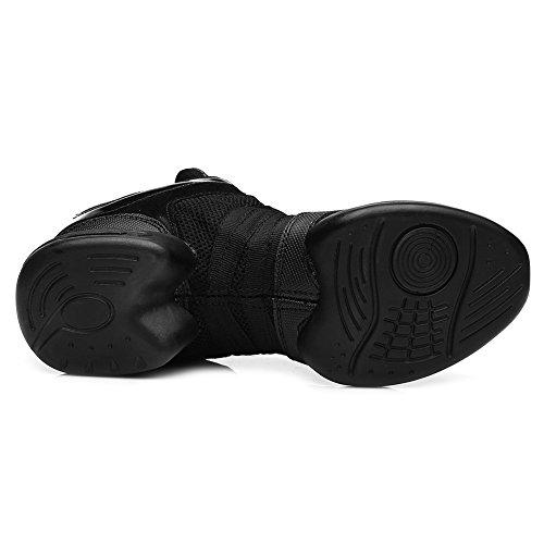 Suela de Deporte 2 de Mujer Transpirable Superficie ESB5 Zapatillas Modelo Malla Goma de HIPPOSEUS Negro wEpZ8qB