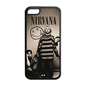Rock Band Nirvana Case Cover for iPhone 5C by runtopwell
