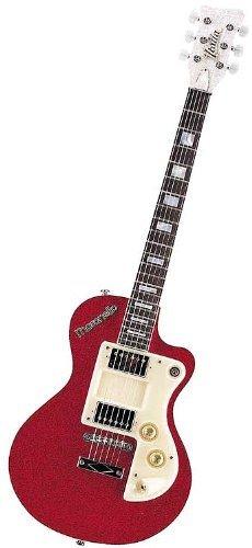 Italia Maranello - Guitarra eléctrica, color rojo: Amazon.es ...