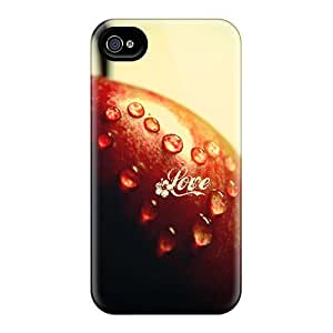 LCYTvst5108JPrix Mwaerke Awesome Case Cover Compatible With Iphone 4/4s - Love