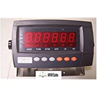 Digiweigh Readout/ Display DWP-102E LED Indicator with Rechargable Battery, Use for Floor scale/ Load cell/ Bench Scale