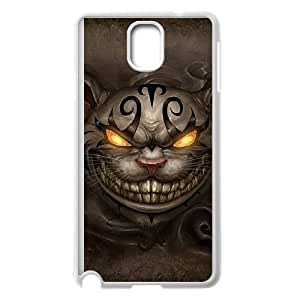 Alice Madness Returns Cheshire Cat Samsung Galaxy Note 3 Cell Phone Case White phone component RT_362625