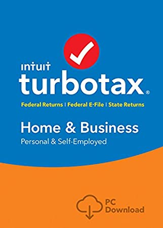TurboTax Home & Business 2017 (Fed + Efile + State) PC Download [Amazon Exclusive]