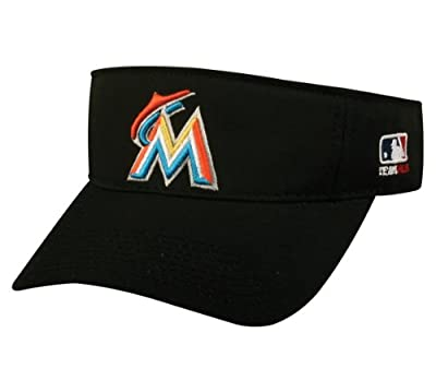 MIAMI MARLINS VISOR MLB Officially Licensed Adjustable Replica Baseball Visor Cap/Hat