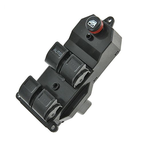 Front Master Power Window Switch Driver Side Left LH for CR-V Civic 4 Door (Civic 4 Door Power Window)