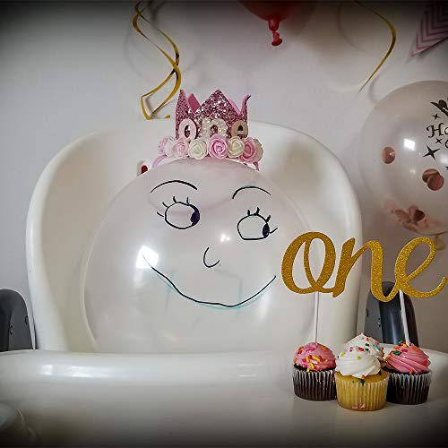 1st Birthday Girl Decorations Princess Theme