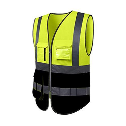 Chaleco Reflectante - Chaleco Fluorescente Trabajadores de ...