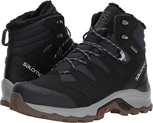 - Salomon Men's Quest Winter GTX Snow Boot, Phantom/Black/Vapor Blue, 10 M US