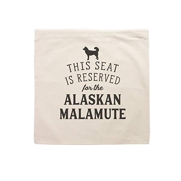 Affable Hound Reserved for The Alaskan Malamute - Cushion Cover - Dog Gift Present 2