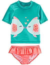 Girls' Two Piece Swimsuit