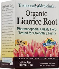 Traditional Medicinals Tea Licorice Root Herb