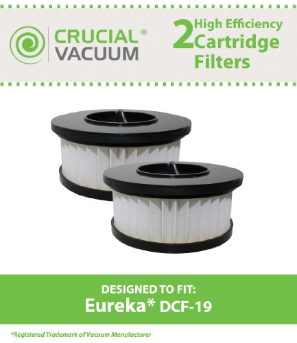 2 Style DCF-19 Filters for Eureka Boss Whirlwind Lite 450...