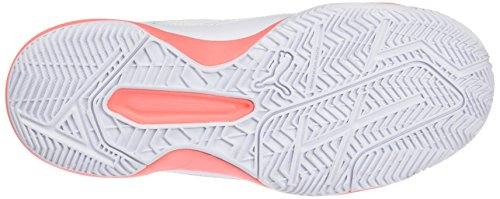 Puma Women's Evospeed Indoor Nf 5 Fitness Shoes, Schwarz/Korall White (White-nrgy Peach 01)