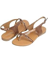 Amazon Com Bronze Gladiator Sandals Shoes Women