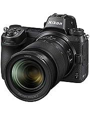 Nikon NIKON Z7 + NIKKOR Z 24-70MM F/4 S Australian Warranty Z Series Z7 Full Frame Mirrorless + Nikkor Z 24-70mm f/4S Single Lens Kit, Black (VOK010XA)