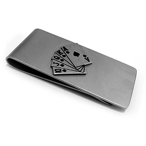 Stainless Steel Poker Credit Holder