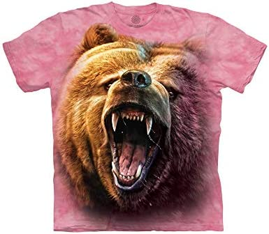 Grizzly Growl Bear T Shirt Child Unisex The Mountain