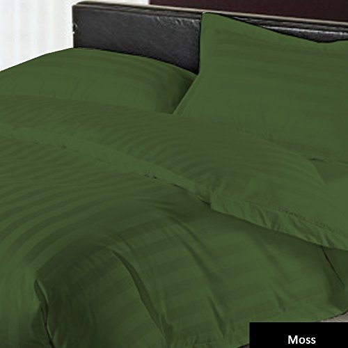 100% Egyptian Cotton 1 Quilt Cover Striped Pattern 1 Piece D