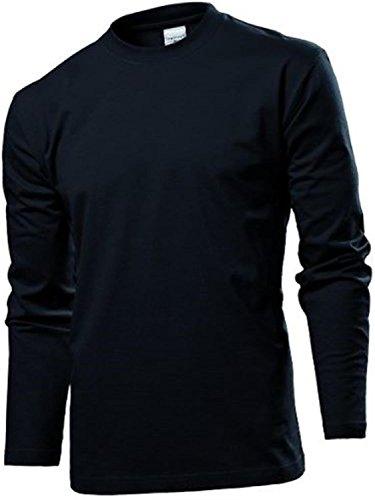 Stedman Herren Comfort Longsleeve-T Men ST2130 Black Opal XL
