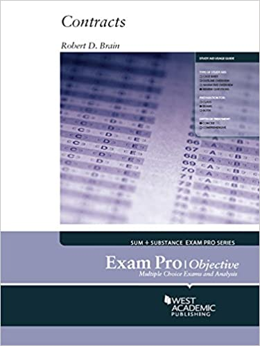 Exam pro on contracts objective kindle edition by robert brain exam pro on contracts objective 1st edition kindle edition fandeluxe Image collections