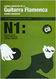 Manual didactico de la guitarra flamenca, 1 libro+CD: Amazon.es ...