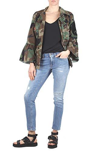 P692ds146dr09t800 Bleu Femme Coton Dondup Jeans w0Z7n5A0q