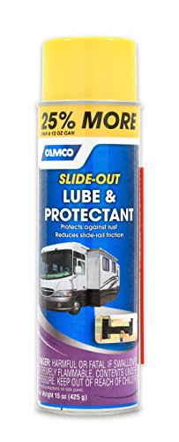 Camco Slide Out Lube -For Metal Parts, Rollers, Door Hinges and Brake Parts, Prevents Fading and Deterioration, Anti Corrosion and Anti Rust, For RVs, Boats, Cars and More - 15 oz (41105) primary
