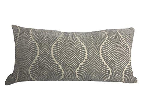 Urban Loft by Westex Karma Grey Feather Filled Decorative Throw Pillow Cushion 14