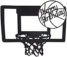 Bands Without Stones 1pc Basketball Cake Cupcake Topper Cake Flags Boy Happy Birthday Children Gift Christmas Beach Party Baking Decorating Supplies