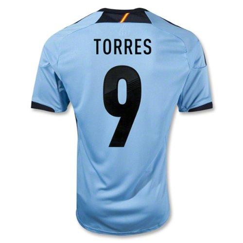 Adidas TORRES #9 Spain Away Jersey EURO 2012 (M) ()
