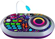 Trolls World Tour DJ Trollex Party Mixer Turntable Toy for Kids Toddler Children, Built in Microphone, Record,
